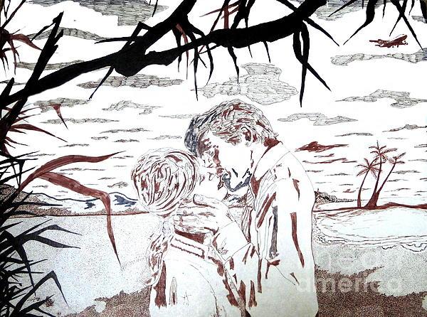 Lovers Print by Roberto Edmanson-Harrison
