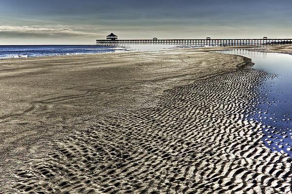 Low Tide Print by Drew Castelhano