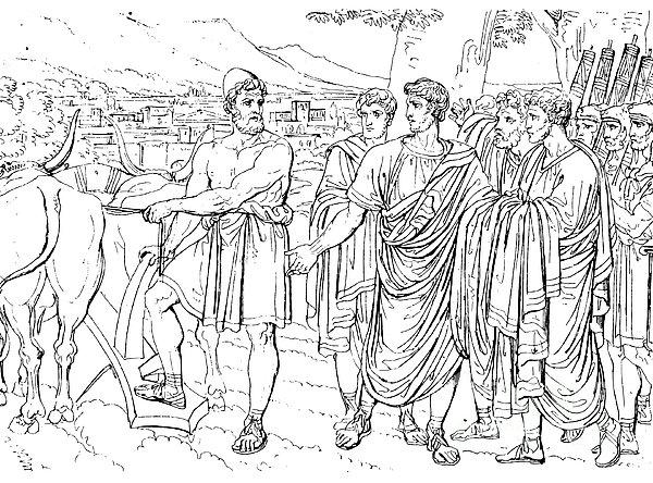 Lucius Cincinnatus Print by Granger