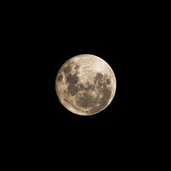 Lunar Perigee Print by Andrew Paranavitana