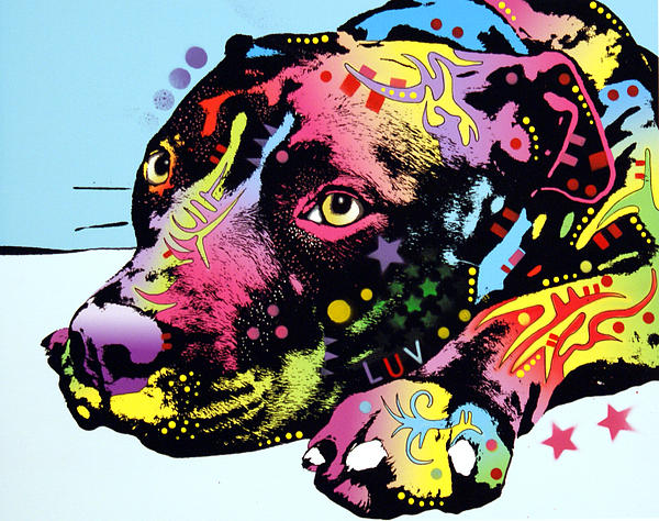 Lying Pit Luv Print by Dean Russo
