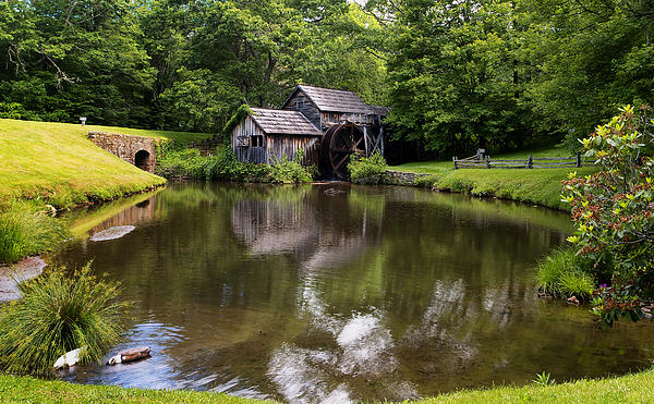 Lori Coleman - Mabry Mill and Pond