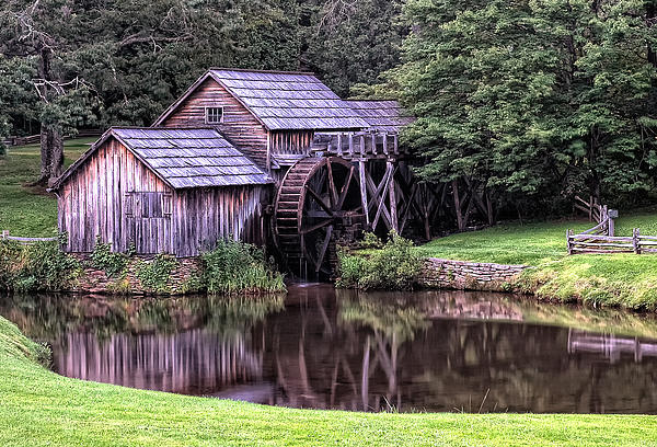 Mabry Mill Print by Wade Aiken