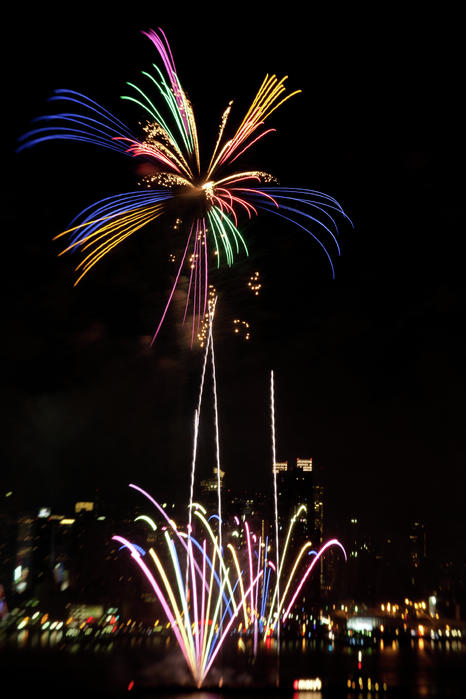Macy's Fireworks I Print by David Hahn