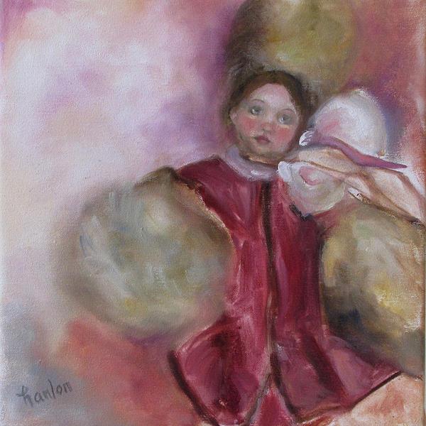 Madame Alexander Cisette Doll Print by Susan Hanlon