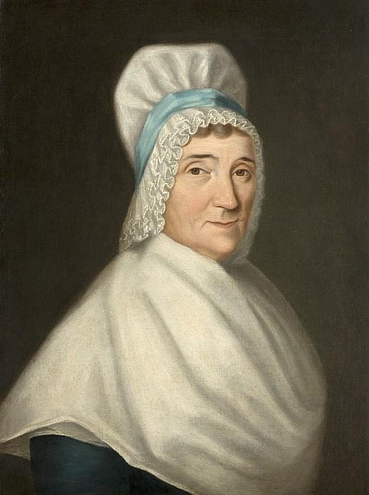 Madame Gabriel Cotte Print by Louis Cretien de Heer