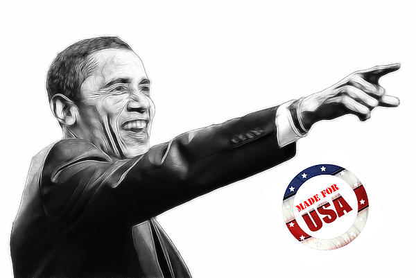Made For Usa Print by Stefan Kuhn