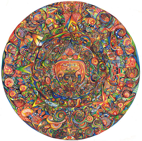 Maeyea Print by Jonathan 'DiNo' DiNapoli
