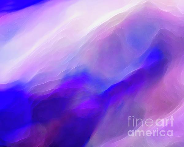 Magenta Clouds Print by Terril Heilman