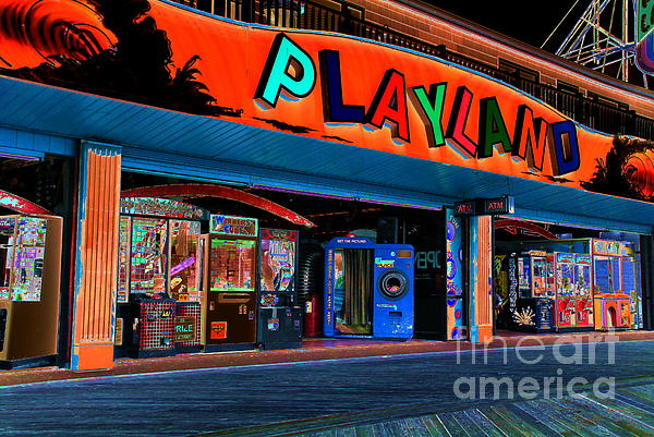 Magical Playland Print by Francie Davis