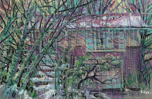 Maier House Print by Donald Maier