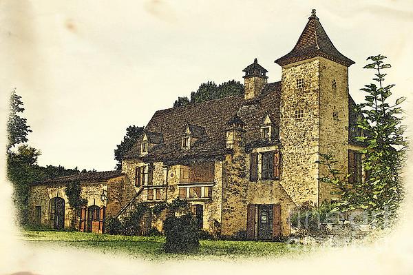Maison De Martelet Print by Paul Topp