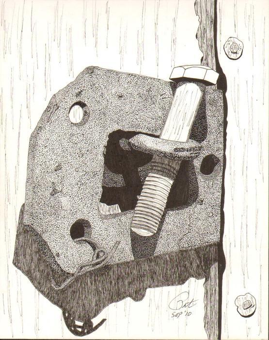 Makeshift Print by Pat Price