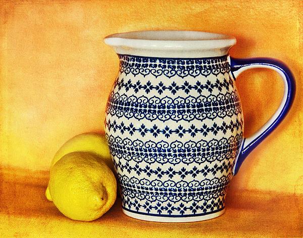 Making Lemonade Print by Tammy Wetzel
