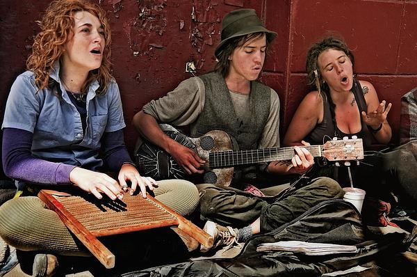 Kathleen K Parker - Making Music in the French Quarter