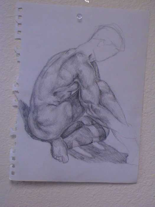 Male Poses Drawing