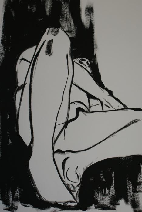 Male Model Print by Joanne Claxton