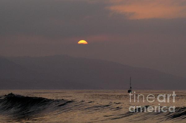 Malibu Sunrise Print by Marc Bittan