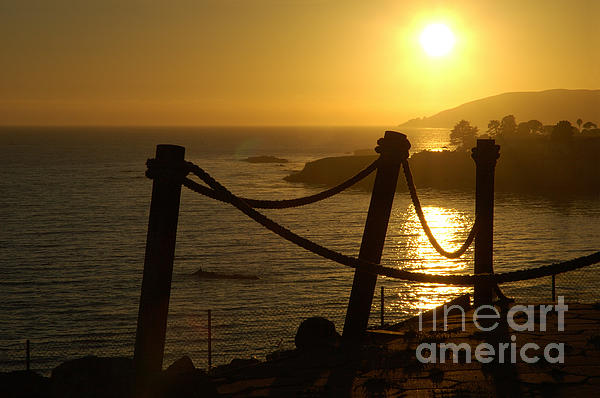 Malibu Sunset Print by Micah May