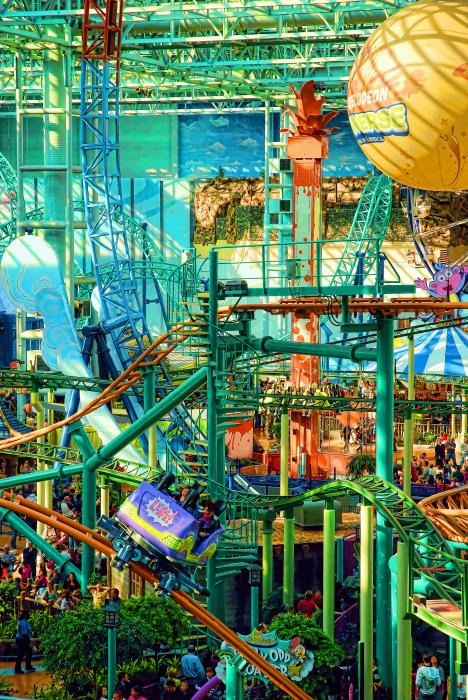 Mall Of America Print by Rich Beer
