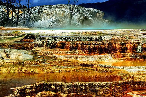 Ellen Heaverlo - Mammoth Terrace - Yellowstone
