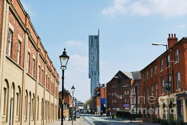Manchester - Beetham Tower Print by Hristo Hristov