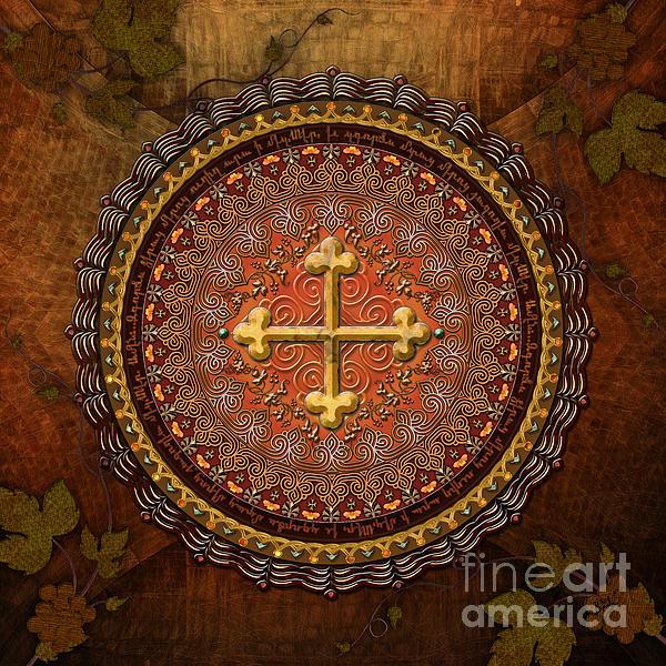 Bedros Awak - Mandala Armenian Cross