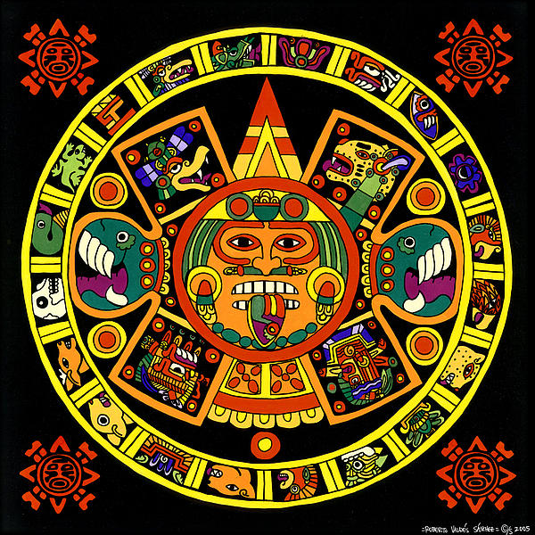 Roberto Valdes Sanchez - Mandala Azteca