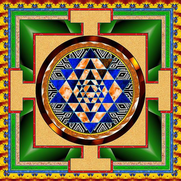 Mario Carini - Mandala Peace