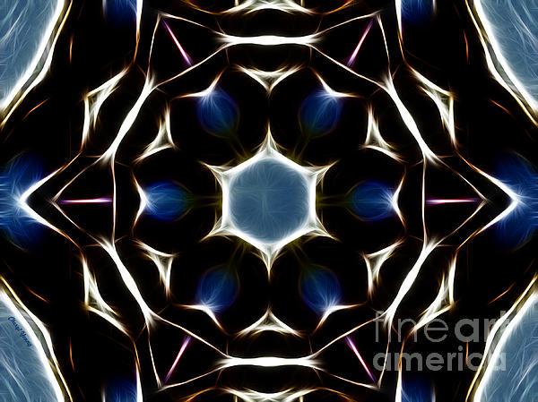 Mandala Star Print by Cheryl Young