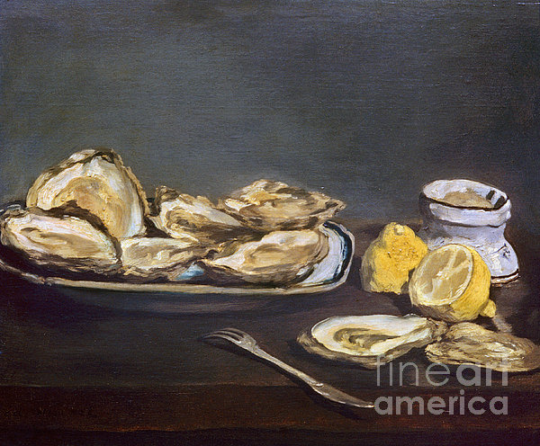 Manet: Oysters, 1862 Print by Granger