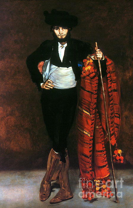 Manet: Young Man, 1863 Print by Granger