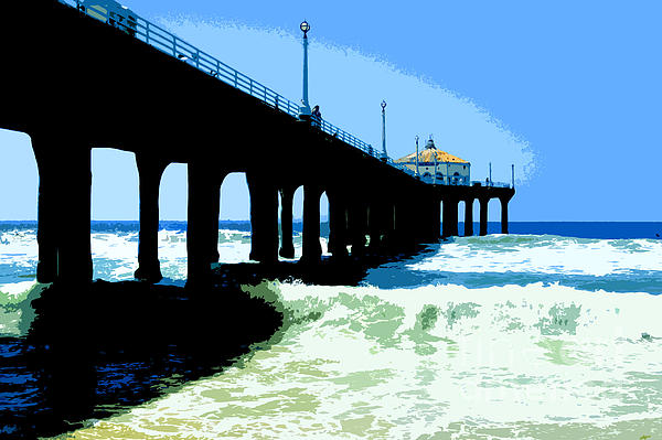 Jerome Stumphauzer - Manhattan Beach Pier California