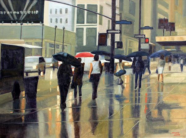 Tate Hamilton - Manhattan rain