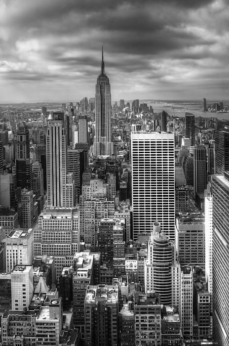 Manhattan01 Print by Svetlana Sewell