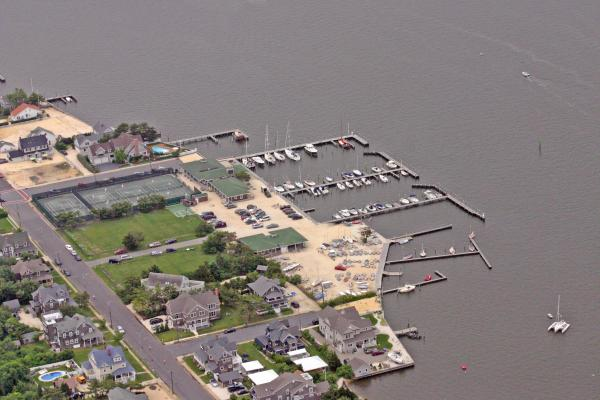 Mantoloking Yacht Club Mantoloking New Jersey Photograph