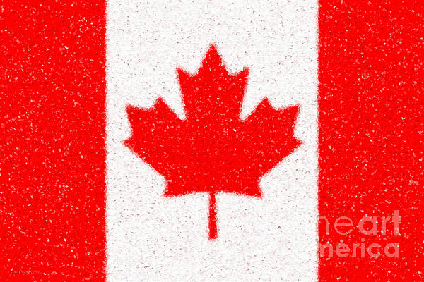 Maple Leaf Abstract Print by Cristophers Dream Artistry