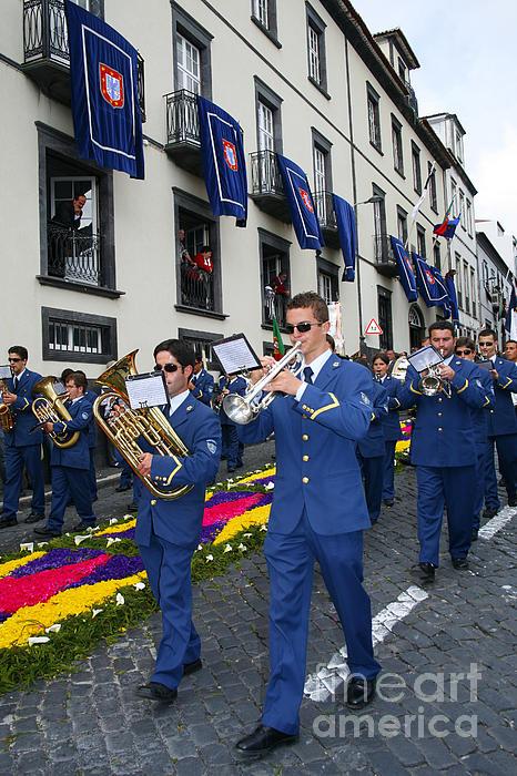 Marching Band Print by Gaspar Avila