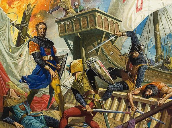 Marco Polo Print by Severino Baraldi