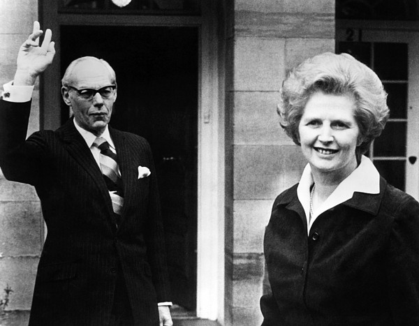 Margaret Thatcher Right Print by Everett