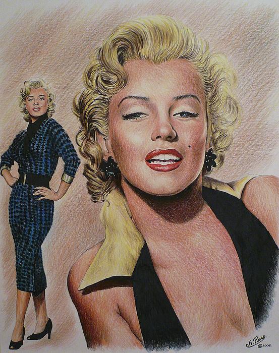 Marilyn Painting  - Marilyn Fine Art Print