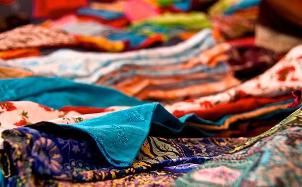 Market Colors In Mauritius Print by Renata Apanaviciene