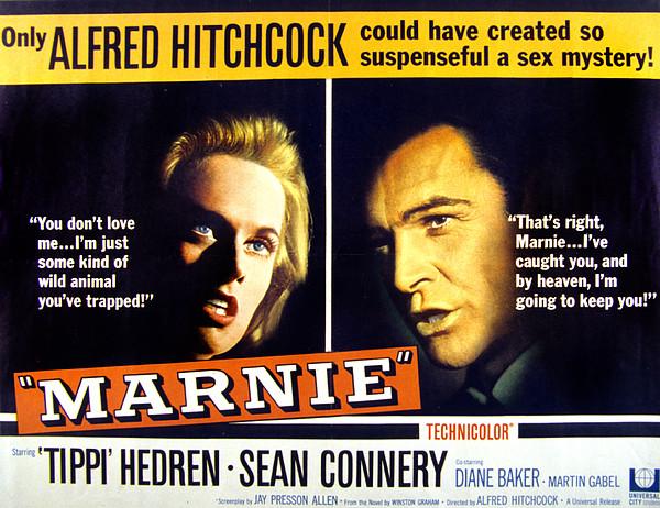 Marnie, Tippi Hedren, Sean Connery, 1964 Print by Everett