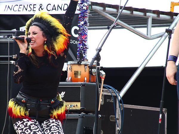 Maryjane Sings Loud And Proud Print by Kym Backland