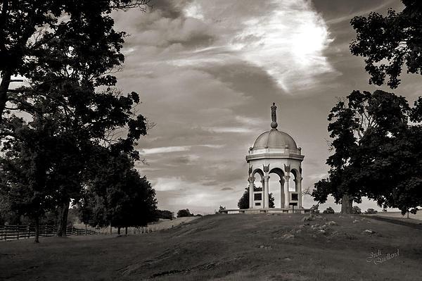 Maryland Monument - Antietam Print by Judi Quelland