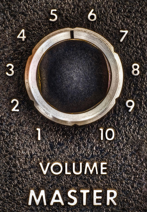 Master Volume Print by Scott Norris