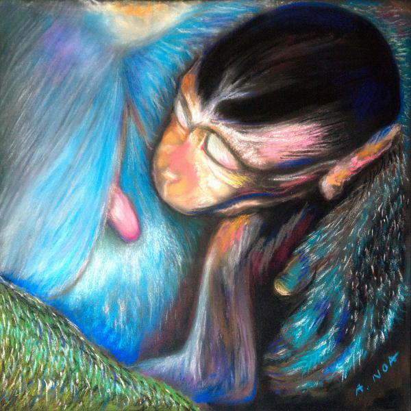 Maternal Warmth Pastel 