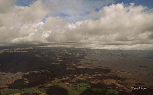 Maui Beneath The Clouds Print by Paulette B Wright