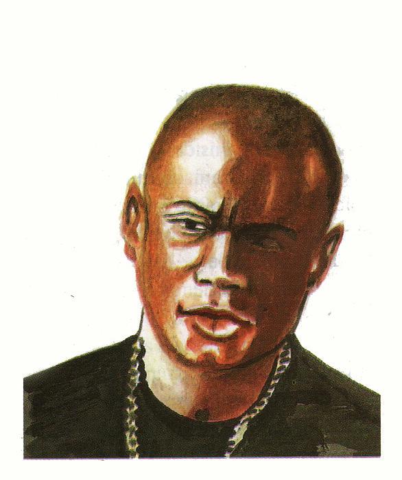 Maurice Greene Print by Emmanuel Baliyanga