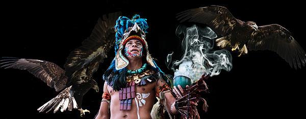 Mayan Spirit Print by Elizabeth Hart